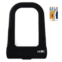 ULAC Stockholm Si Steel Shackle Ulock - Black Bike U Lock