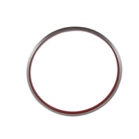 "Generic Alloy 26"" Red Rim 36 Holes Single Wall"