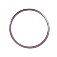 "Generic Alloy 26"" Pale Pink Rim 36 Holes Single Wall"
