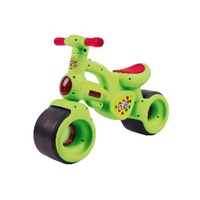 Balbi Fluro Green Balance Bike - 18mths - 3 Years Old Kids Balance Bike