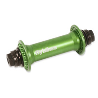 FlyBikes Classic 36H BMX Front Hub - Apple Green Front Bike Hub