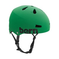 Bern Macon Mens Bike Helmet  - ThinShell - EPS Summer Matte Kelly Green - Small