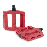 The Shadow Conspiracy Surface Plastic BMX Pedals - Crimson Red