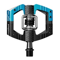Crankbrothers MTB Pedals - Mallet E - Long Spindle - Black & Blue
