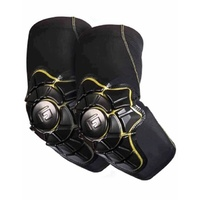 G Form Youth L-XL Pro X Elbow Pads - Elbow Protectors - Black / Yellow