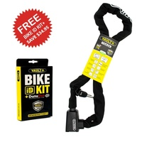 Vault Chain Lock + Bike ID Kit+ DataDot Technology Bike ID Protection Lock Kit