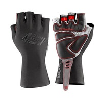 Bellwether Aero Race Road Cycling Gloves - Black/White/Red - Large