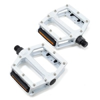 Giant Original MTB Pedals - Core White - Flat Mountain Bike Pedals