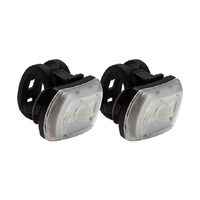 Blackburn Bike Light Set - Two Pack - FER 60/20 - USB Rechargable - Black