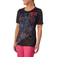 Giro MTB Jersey - Womens 'Roust' Jersey - Black / Multi - Various Sizes