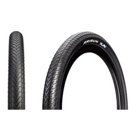 "2 x Arisun XLR8 20 x 1.75"" BMX Racing Tyres - Black Bike Race Tires"