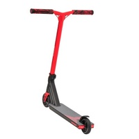 Triad Delinquent Kids Scooter - Satin Black/Red - Mini