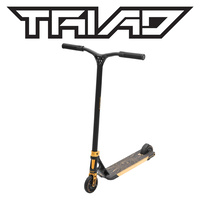 Triad Scooter - Conspiracy - Matte Black/ Neo Gold