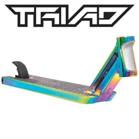 Triad Scooter Deck - Medusa - Neo Chrome