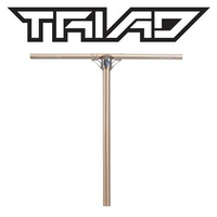 Triad Scooter Chromoly Bar - Launder - Raw