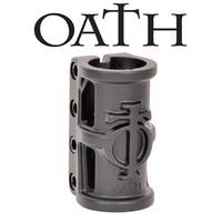Oath Scooter SCS 4 Bolt Clamp Cage - Ano Satin Black