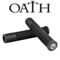 Oath Bermuda Scooter Grips 165mm With Bar Ends - Black