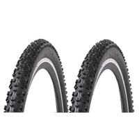 "2x (PAIR) 29 x 2.25"" Freedom Black Diamond Deluxe Puncture Protector Bike Tyres"