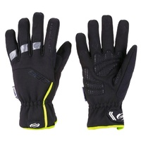 BBB BWG-25 WeatherProof Winter Gloves - Weather Proof Black / Yellow Bike Gloves