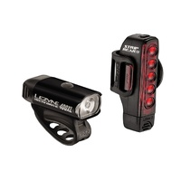 Lezyne Hecto Drive 400 / Strip Pair Front & Rear Bike Light