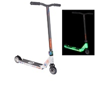 "Crisp Blaster ""Glow in the Dark"" Scooter - White / Satin Grey Scooter MY17"