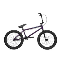 Kink Gap 2018 Gloss Trans Purple BMX Bike - Complete BMX Bike