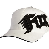 FOX Racing New Generation FlexFit Cap - White Fox Hat