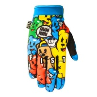 Fist Handwear Gummy World Strapped Motocross Dirt Bike BMX MTB Gloves