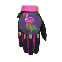 Fist Handwear Flaminglow Strapped Motocross Dirt Bike BMX MTB Flamingo Gloves