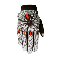 Fist Handwear Red Back Strapped Motocross Dirt Bike BMX MTB Gloves