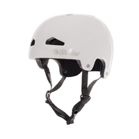 The Shadow Conspiracy BMX Bike/Skate Helmet - Featherweight - Gloss White