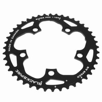 Blackspire Bike/Cycling Chainring - SuperPro 9/10 Speed - 110/44t - Black