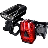 Infini Lava Combo Bike Lights Front & Rear  (I-260WR-BK).