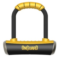 OnGuard Bike Mini-U-Lock - 8006 - Pitbull - 90mm x 140mm