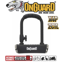 OnGuard Bike Lock - 8006X Pitbull X-Series - Keyed U-Lock - 9cm x 140cm