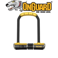 OnGuard Bike Lock Combo - 8010C - Bulldog - STD Shackle - 11.5cm x 23cm D 13mm