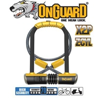 OG Bike Lock Combo - 8012C - Bulldog - DT Shackle 11.5 x 23cm - Cable 120 x 10mm