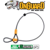OnGuard Bike Lock - 8044 - Akita - Medium Cable - 120cm x 10mm