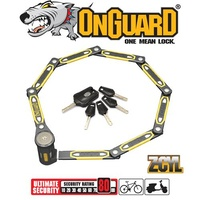 OnGuard Bike Lock - 8113 - K9 - Heavy Duty Link Plate - 79cm