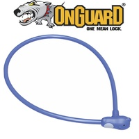 OnGuard Bike Lock - 8277 - Firstlock - Keyed Cable Lock - 60cm x 6mm - Blue