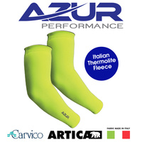 Azur Bike/Cycling Arm Warmers - Neon Yellow - Various Sizes