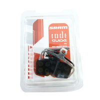 Sram Code Guide RE MTB Bike Disc Brake Pads - Organic with Steel Back