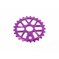 Academy Pro V2 BMX Sprocket 25T - Purple 25 Tooth 22mm / 19mm