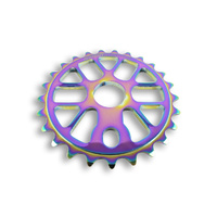 Academy Pro V2 BMX Sprocket 25T - Jetfuel Rainbow 25 Tooth 22mm / 19mm