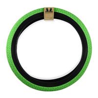 "Academy 617 BMX Tyre 20 x 2.25"" Bright Green with Black Wall Tire"