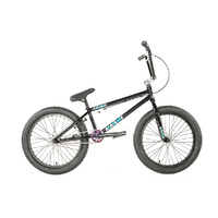 "Academy BMX Bike - 'Entrant' 19.5""TT - 2019 Model - Gloss Black / Rainbow"