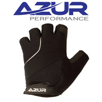 Azur Bike/Cycling Gloves - S6 Series - Black - Various Sizes