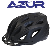 Azur Bike Helmet - L61 Series - Satin Black - Various Sizes