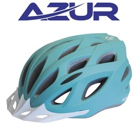 Azur Bike Helmet - L61 Series - Matt Teal - Various Sizes
