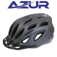 Azur Bike Helmet - L61 Series - Satin Titanium - Various Sizes